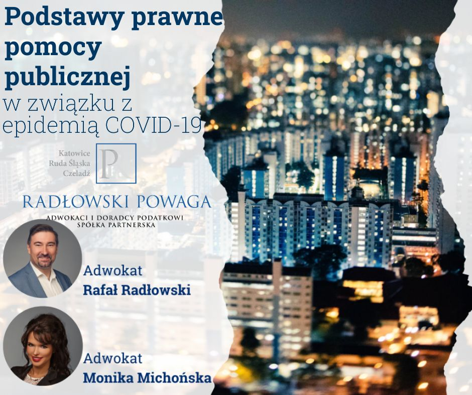 Podstawy prawne pomocy publicznej z związku z epidemią COVID-19