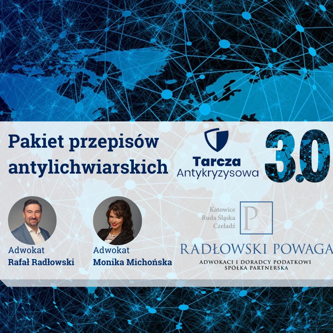 Pakiet przepisów antylichwiarskich w Tarczy Antykryzysowej 3.0